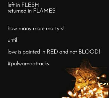 The Floating Thoughts by Dee & Roy + Pulwama Attack