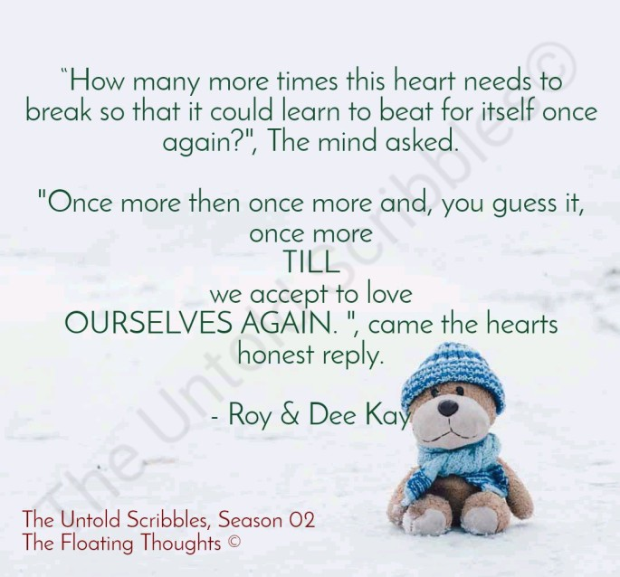 The Untold Scribbles + Season 02 + By Roy & Dee Kay + The Floating Thoughts